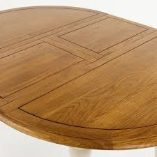 painted round extending dining table image 7 shay