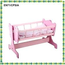 wooden baby doll furniture top selling wooden baby cradle with doll ...