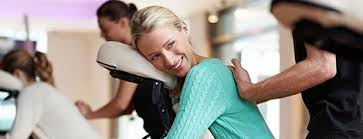 chair massage. our team of massage therapist are able to go your office or event and perform chair therapy.