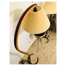 Caprani Light Sold Two Vintage Danish Modern Elegant Floor Lamps By