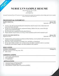 Lvn Resume Sample Examples Template Objective 40 Functional More Adorable Lvn Resume