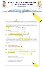 40 Tips To Help You Tailor A Resume To The Job Description Fairygodboss Extraordinary How To Tailor A Resume To A Job