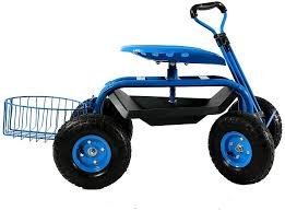 extendable steer handle swivel seat