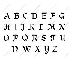 stencil lettering