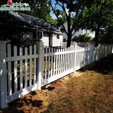 prime vinyl picket fence white pvc