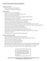 Good Questions To Ask In An Informational Interview Informational Interviews
