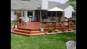 outdoor deck furniture ideas. interesting backyard decks with deck umbrella and wood railing plus fake flooring also outdoor furniture ideas n