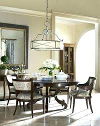 dining table chandelier height chandelier