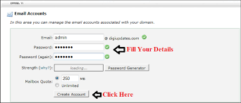Creat E Mail How To Set Up An Email Account That Uses Your Domain Name