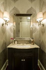 powder room lighting ideas. Contemporary Powder Room By Dewson Construction Company Love This Wall Paper Lighting Ideas S