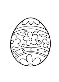 Kleurplaten Pasen Eieren
