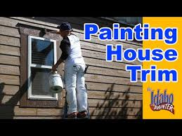 painting exterior trim. how to paint exterior house trim. simple home painting tips. trim
