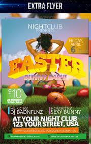 Easter Party Flyer Louis Twelve