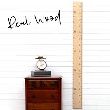 Growth Chart Art Wooden Growth Chart Ruler For Boys Girls Growth Chart Ruler Kids Height Chart Naked Birch Schoolhouse Ruler With