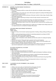 Aircraft Technician Resume Sample Aviation Technician Resume Samples Velvet Jobs 12