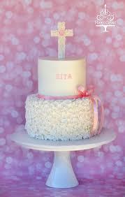 Baby Girl Baptism Cake Cakecentralcom