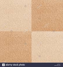 New checkered carpet texture Bright Beige carpet flooring as Stock
