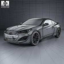 hyundai genesis interior. hyundai genesis coupe with hq interior 2014 3d model max obj 3ds fbx c4d lwo lw