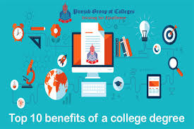Top 10 benefits of a college degree | Punjab Colleges