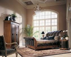 Sleigh Bed Bedroom Furniture American Drew Bob Mackie Home Classics Sleigh Bed With Crocodile