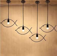 industrial multi pendant lighting for living room bedroom fish shape wh vp 43 images