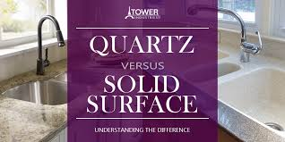 comparing quartz to solid surface countertops knowing the differences