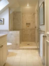 ideas bathroom tile color cream neutral: color inspiration gorgeous bathroom using cream x stone tile throughout https