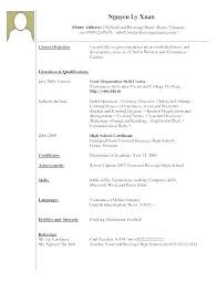 College Student Resume Cool Resume Of College Student Sample Resume For A College Student