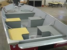 photos of jon boat casting deck