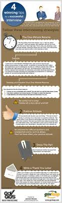 winning tips for a successful job interview ly 4 winning tips for a successful job interview infographic