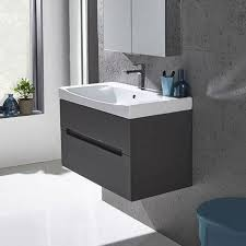 rhodes pursuit mm bathroom vanity unit: roper rhodes diverge mm wall mounted vanity unit