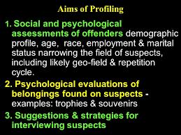 criminal profiling establishment of the fbi behavioural science criminal profiling 2 3