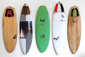 surfboards into gnarly wall art