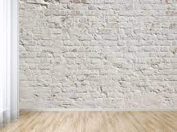 white washed brick l and stick