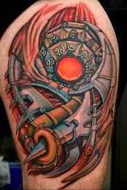 фото тату биомеханика на плече 06042019 010 Tattoo Biomechaniс