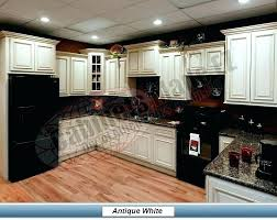 painted kitchen cabinets with black appliances. White Cabinets Black Appliances Kitchen Painted With S