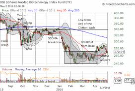 Ishares Nasdaq Biotechnology Etf Clings To Support
