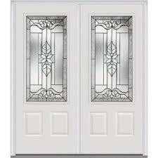 white double door. 64 White Double Door P