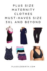 Plus Size Maternity Clothes Must Haves Size 3xl And Beyond
