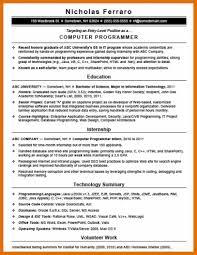 sample computer programmer resume 8 9 programmer resume sowtemplate