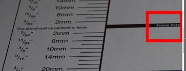 Does This Test Chart Show That My Kit Lens Front Focused