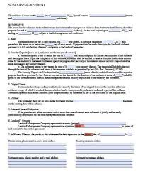 Sublease Form Free Missouri Sublease Agreement Form Pdf Template