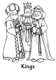 Kids N Fun Kleurplaat Drie Koningen Drie Koningen