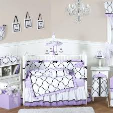 purple nursery bedding best crib ideas images on of baby purple baby girl bedding