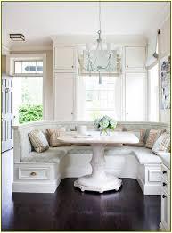 White Breakfast Nook Kitchen White Nook Corner Bench With Storage Sets Uotsh