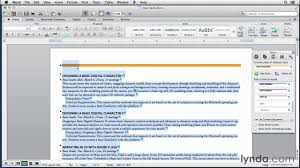 Create A Word Template Word And Indesign Tutorial Creating A Word Template With Indesign Styles Lynda Com