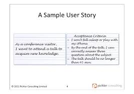 Agile User Story Acceptance Criteria Template Test Notes Writing User Stories Eclipse Articles Com