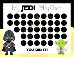 Potty Training Sticker Chart Printable Potty Training Reward Chart Free Stickers Pen Magnetic Star Wars