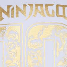 LEGO Ninjago Kurzarm Shirt M12010195 weiß - 10 Jahre | Kurzarm |Oberteile  |Jungen