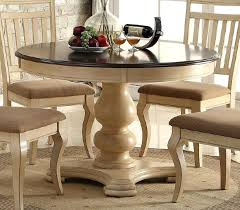 wooden top dining table carved wood cream base dark brown round wood top dining table wooden